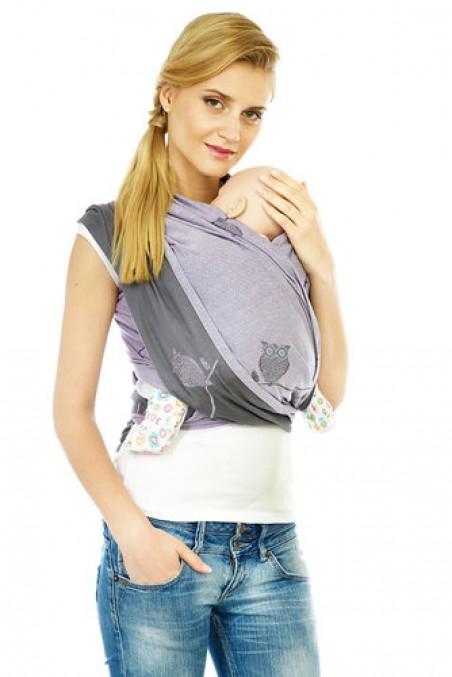Слинг-шарф для детей до 3-х лет